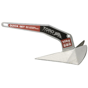 Schnell durchdringender Toro-Anker aus verzinktem Stahl 20kg